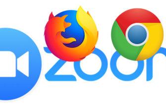 Zoom через браузер