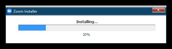 Установка Zoom для Windows