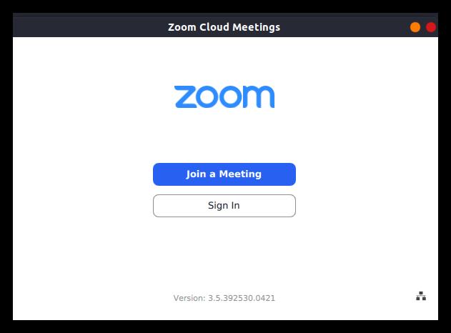 Запуск Zoom на Ubuntu